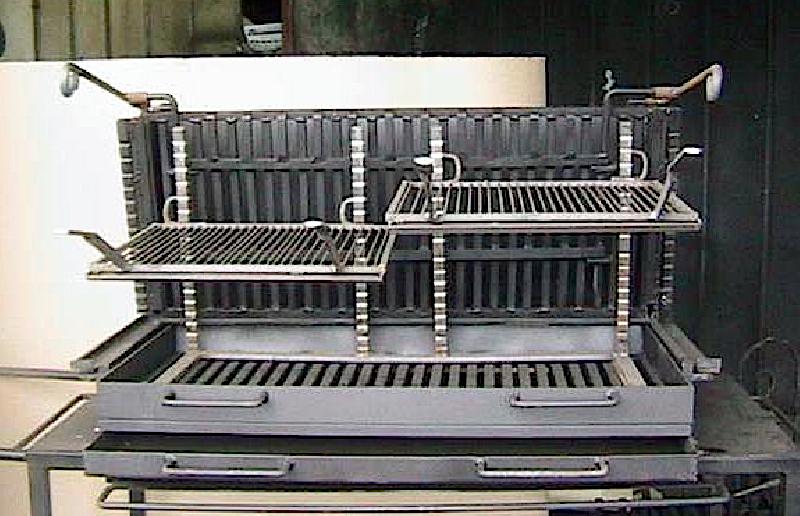 bbq brasero parrillada argentine sur mesure pour particulier comme professionnel. Black Bedroom Furniture Sets. Home Design Ideas
