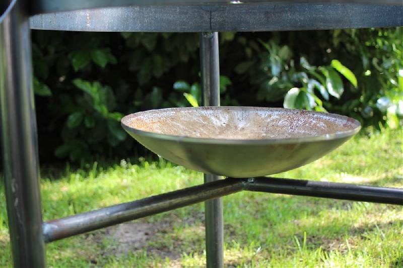 Pied amovible pour brasero - barbecue